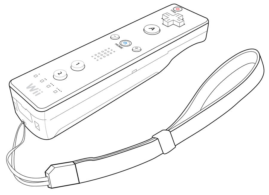 wii remote by lzprojects on deviantart