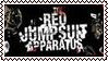 Red Jumpsuit Apparatus -Stamp- by ParamourxLights