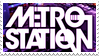 Metro Station -Stamp- by ParamourxLights
