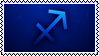 Sagittarius stamp by ParamourxLights