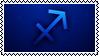 Sagittarius stamp by ParamourxLights