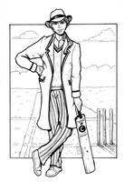 Doctor Who 4 Davison by Kyohazard