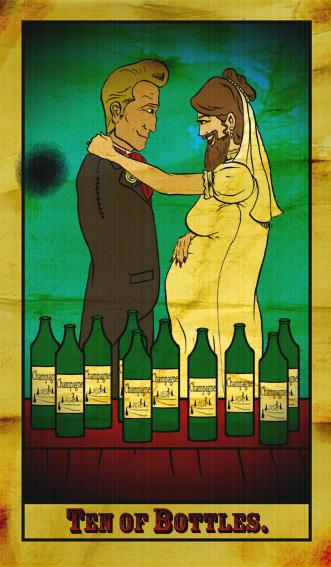 Ten of Bottles by Kyohazard