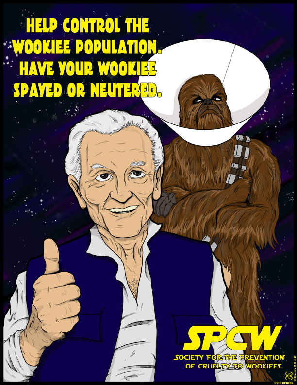Have your Wookiee Spayed or Neutered by Kyohazard