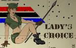 G.I. Joe Nose Art Lady Jaye