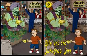 Billy and the Junkshop Jinn by Kyohazard