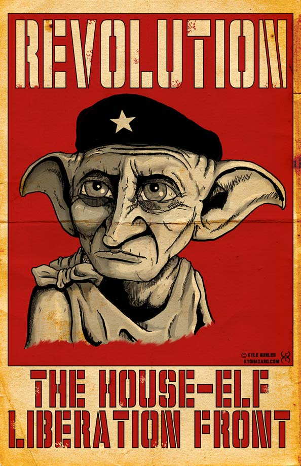 House-Elf Liberation Front by Kyohazard