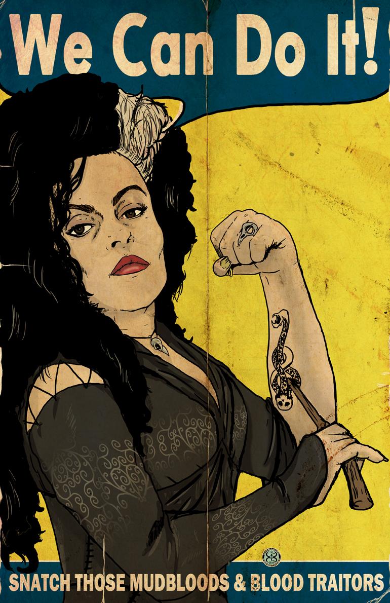 Bellatrix The Riveter by Kyohazard