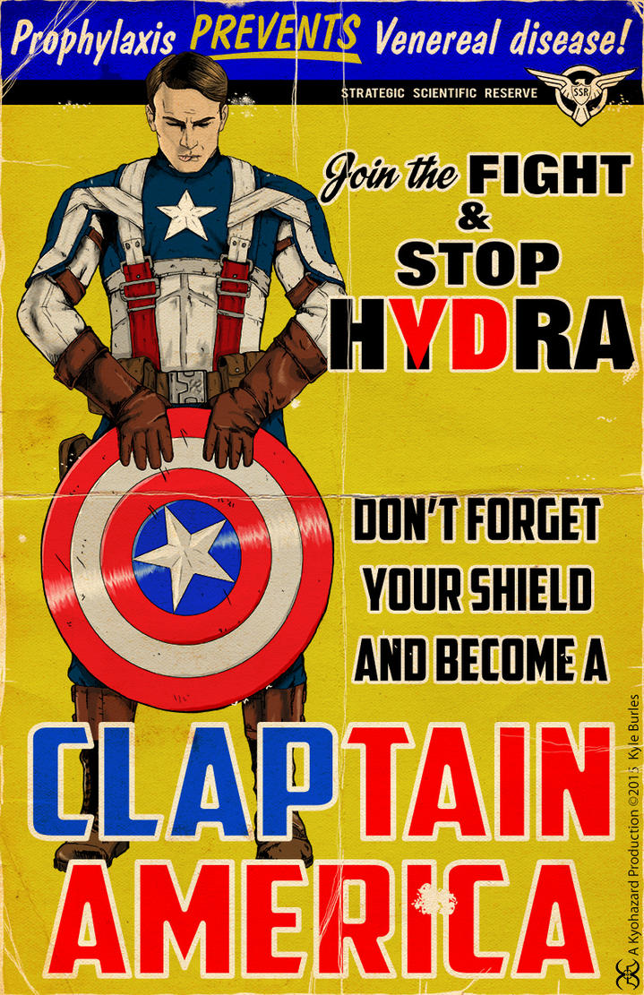 Claptain America by Kyohazard