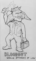 Drawlloween / INKtober Day 3: Goblin by Kyohazard