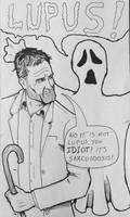 Drawlloween / INKtober day7: Haunted House! by Kyohazard