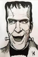Drawlloween 13: Frankenstein (Nee Munster)