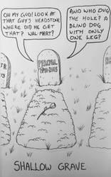 Drawlloween Day 16: Grave