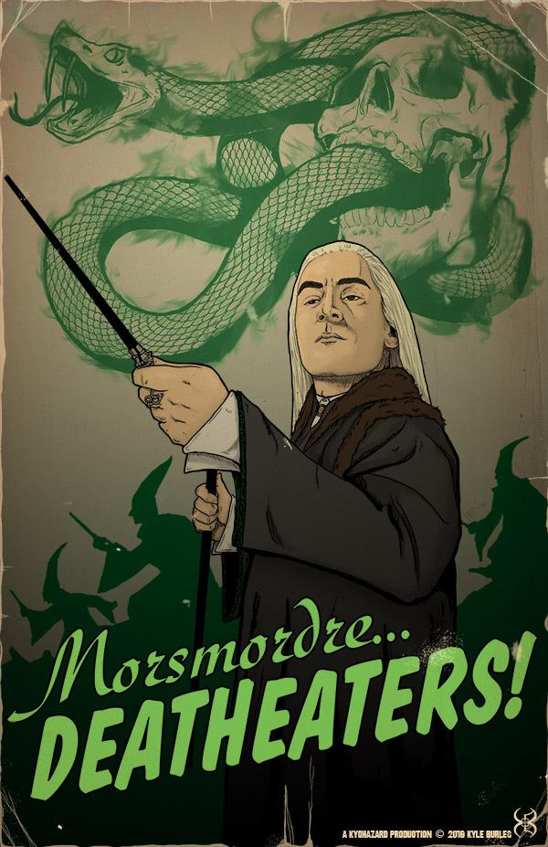 Morsmordre... Deatheaters! by Kyohazard