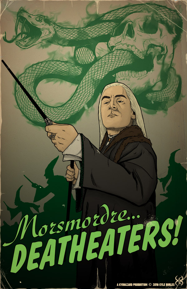 Morsmordre... Deatheaters!