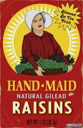 Handmaid Raisins by Kyohazard