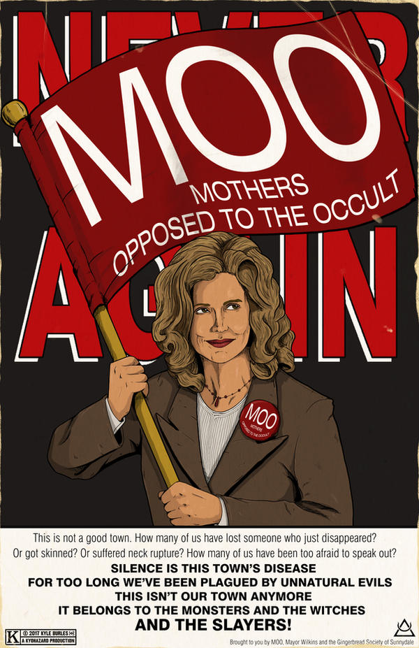 MOO Mothers Opposed to the Occult by Kyohazard