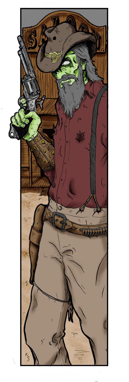 Zombie Gunslinger by Kyohazard