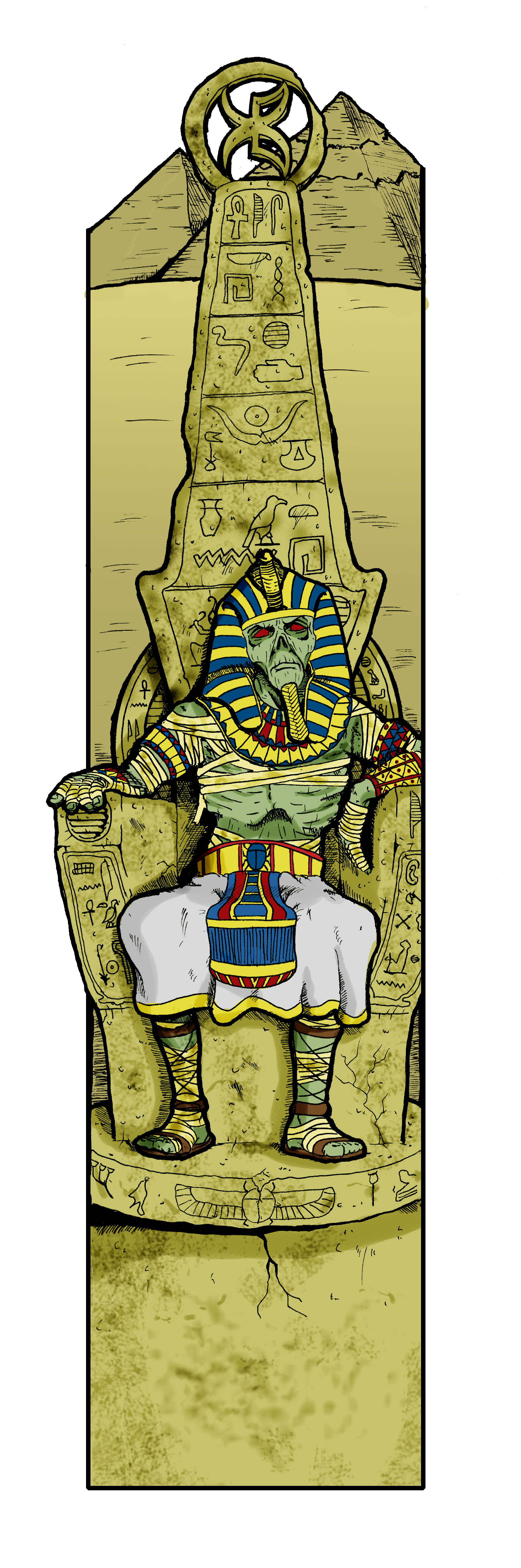 Mummy King by Kyohazard