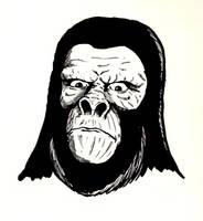 Gorilla soldier by Kyohazard
