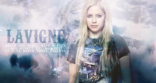 Avril Lavigne by KanekiKen22