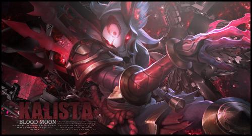 Kalista Blood Moon by KanekiKen22