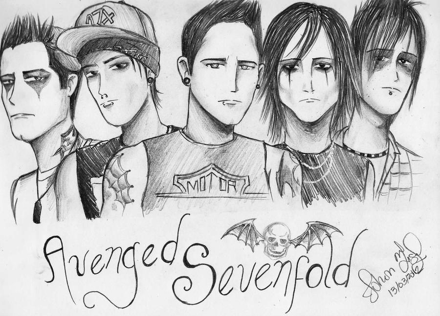 Avenged Sevenfold by johs19 on DeviantArt