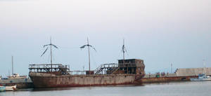Ship wreck 2 by YvaineGlareStock