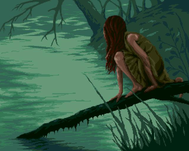 Riverside - Pixelart by loriean