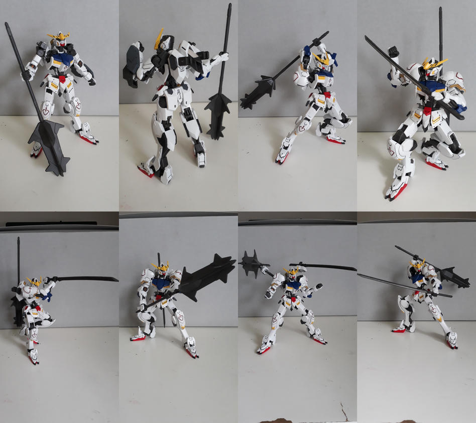 Gunpla showcase: ASW-G-8 Gundam Barbatos by MidnightDJ-SK