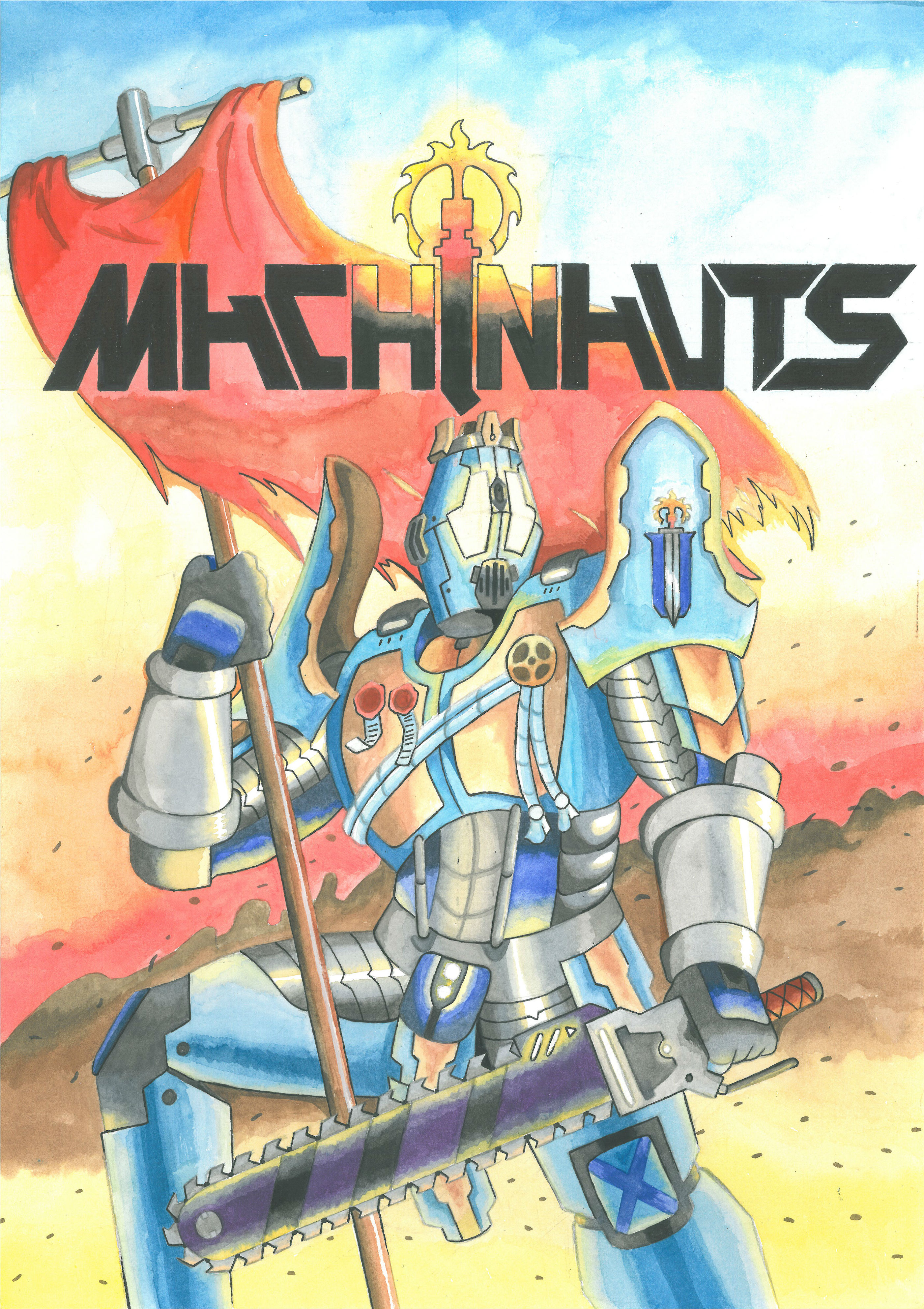 Machinauts RP poster by MidnightDJ-SK