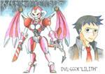 Medabot Variant: DVL-666X 'Lilith' by MidnightDJ-SK