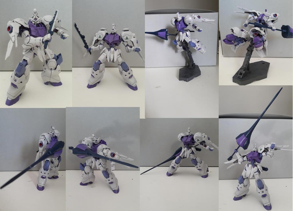 Gunpla Showcase: ASW-G-66 Gundam Kimaris by MidnightDJ-SK