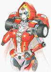 Transformer OC: Red Hood by MidnightDJ-SK