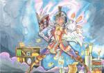 Character highlight: Aviria the sorceress by MidnightDJ-SK