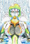 Character highlight: H.I.L.D.E. by MidnightDJ-SK