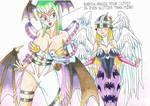 Morrigan Angewomon outfitswap by MidnightDJ-SK