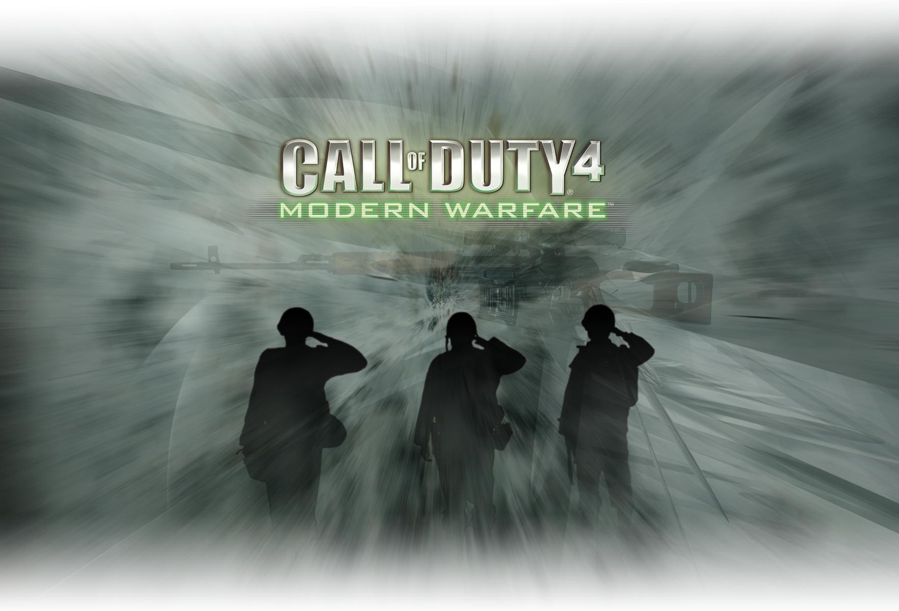 Call Of Duty 4 Wallpaper By Bull53y3 On Deviantart
