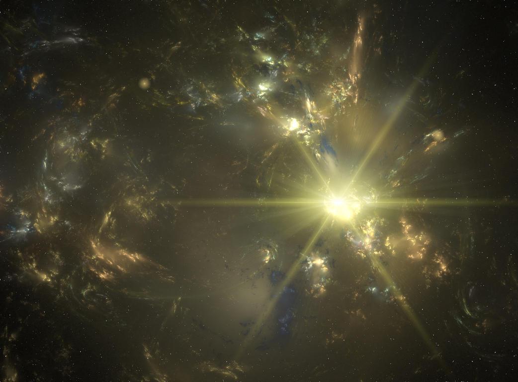gold nebula by Bull53Y3