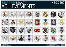 Star Trek Legacy Achievements by gearman