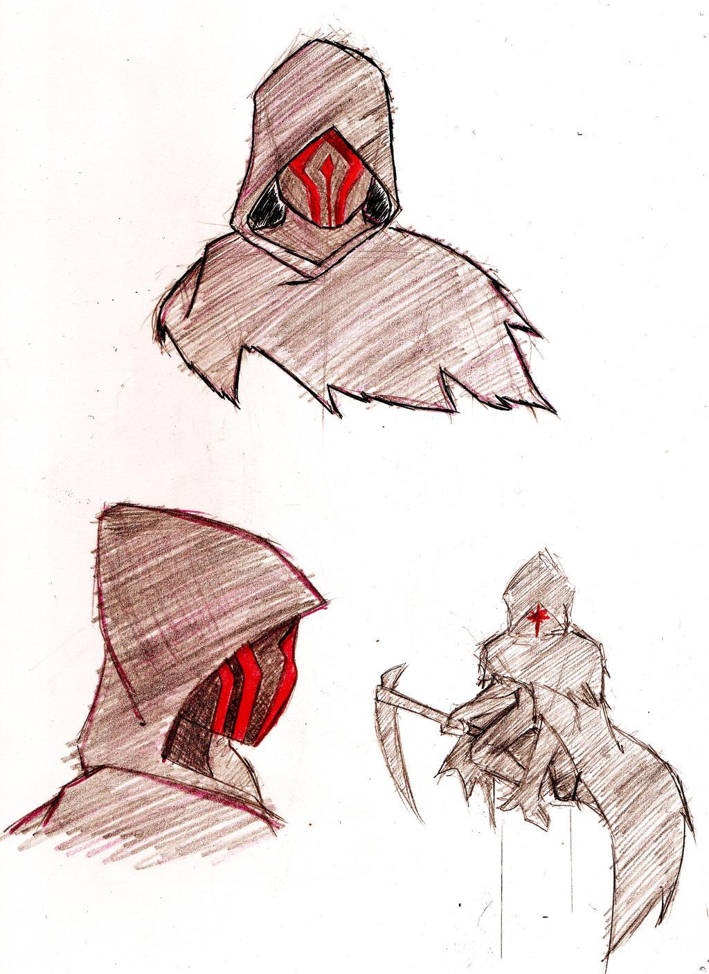 warframe the stalker by swampster12 watch fan art traditional art ...