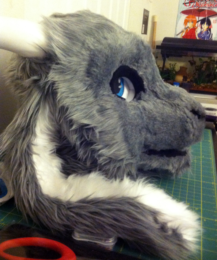 Goat Partial WIP - Eyes! by TigeroftheWinds