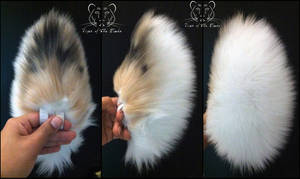 SOLD - Painted Fluffy Tail by TigeroftheWinds