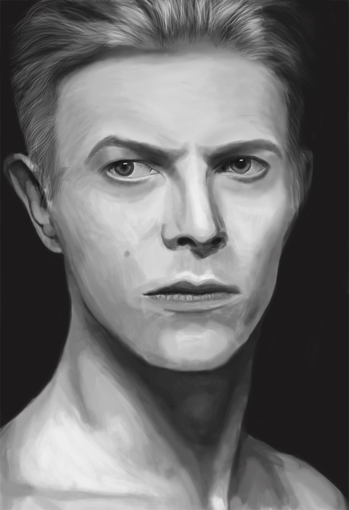 David Bowie by WildGooseRu
