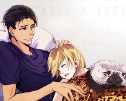 Otaburi - Sleeping Kitten by Demetis