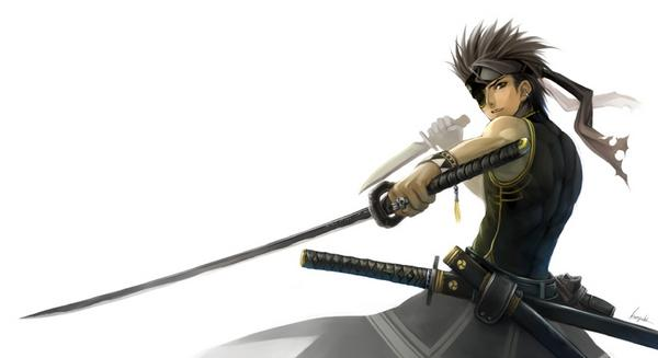 Anime Characters Use Dual Swords : Awesome samurai by the lone demon wolf on deviantart