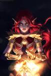 Finished YCH: Night Warrior 1
