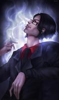 Finished YCH: Smoke