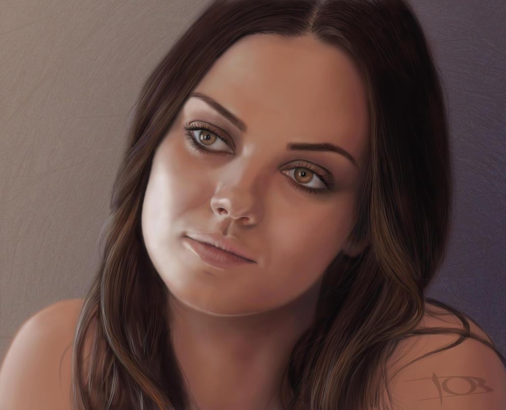 Mila Kunis by tonyob