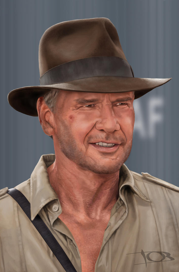 Harrison Ford, Indiana Jones by tonyob